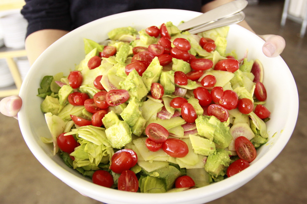 Avocado and Chayote Salad with Cilantro-Lime Vinaigrette